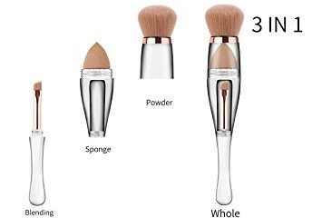 Three in One Makeup Brush